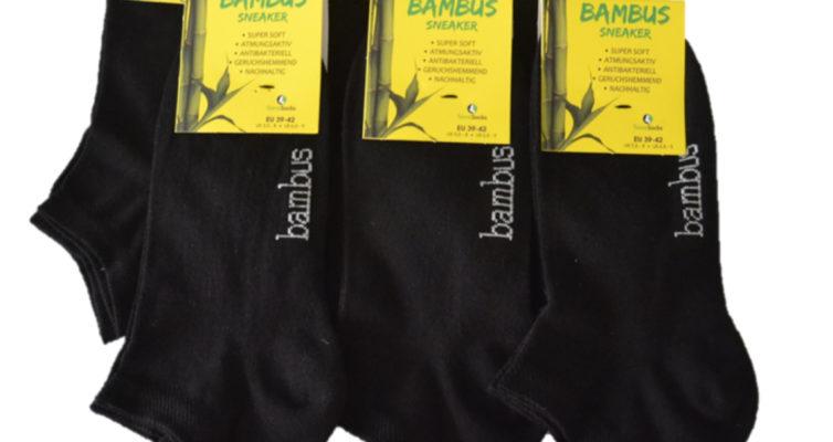 Bambus-Sneaker-Socken