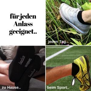 sneakersocken von sanasocks - für jeden anlass geeignet