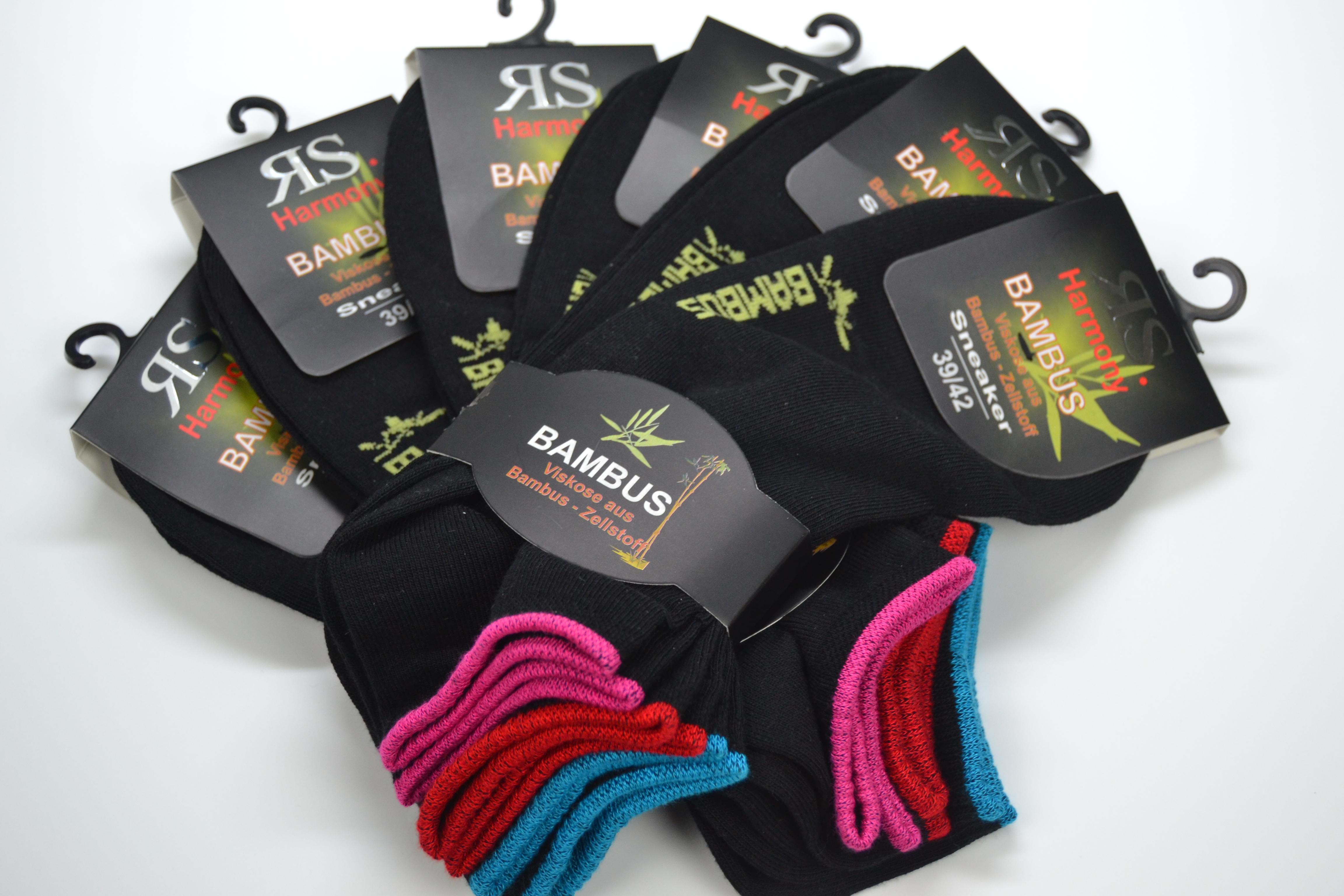 Trendige Bambus-Sneaker-Socken